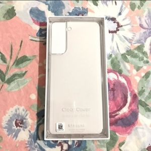Official Galaxy S21 5G Clear Cover